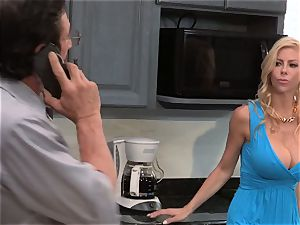 A lil' help from my pals part four with frisky milf Alexis Fawx five