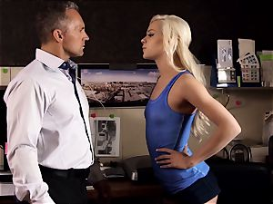 demon inwards Pt three Elsa Jean and Alexis Fawx lezzie tryst