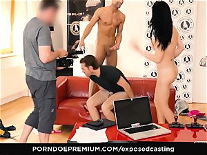 uncovered audition - porno star Jasmine Jae MMF 3 way