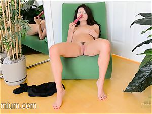 Adria Rae enjoys a great dildo in the vagina