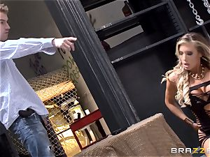 fabulous cop Samantha Saint caught pulverizing the public