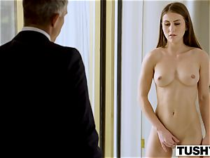 TUSHY secretary Makes Her boss Work For buttfuck