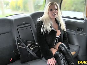faux cab sex industry star makes debut in london cab