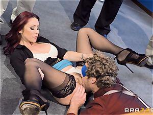 kinky office antics with Monique Alexander