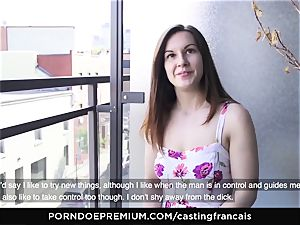 audition FRANCAIS Cowgirl knob riding with timid rookie