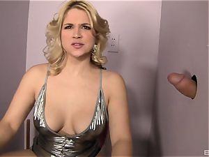 Sarah Vandella loves sucking strange stiffy