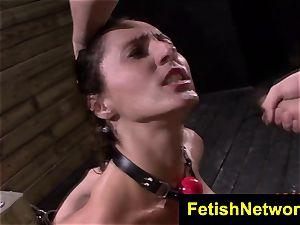FetishNetwork Fiona Rivers arse training