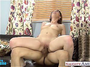 insane Nickey Huntsman licked out before deepthroating and fuckin'