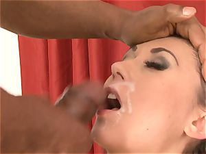 bi-racial fellatio jizz flow Compilation dolls deep throating