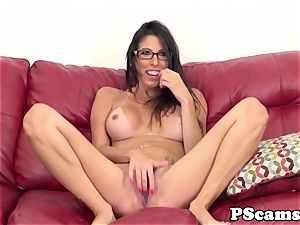 Real webcamshow with facialized ps Dava Foxx