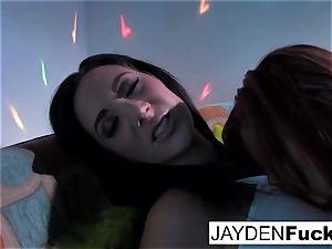 Jayden Jaymes and Jayden Cole get horny