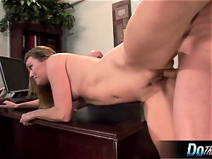 super-steamy wife Daisy Layne screws and munches jizz