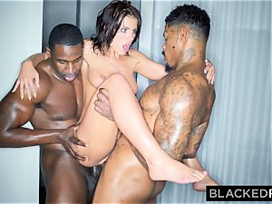 BLACKEDRAW Adriana Chechik Needs A dual portion Of big black cock