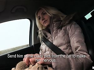 Victoria Puppy gets a strangers prick deep inwards her