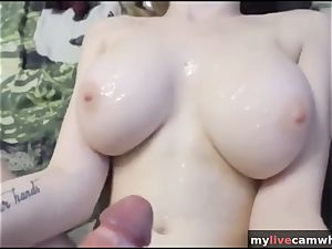 youthfull tramp With ample bra-stuffers Got bang So rigid For Her admirers - mylivecamwhore.com