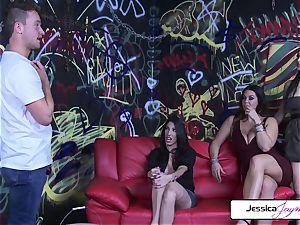 Jessica Jaymes Dava Foxx Alison Tyler pummel The Painter