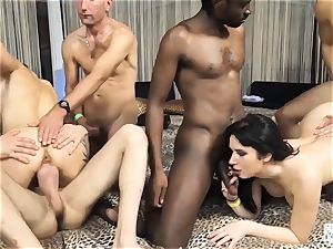 casting ALLA ITALIANA - wild Italian multiracial hookup