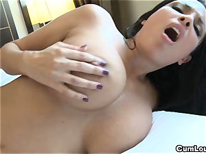 Anissa Kate showcasing her yam-sized all-natural bosoms in Public