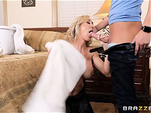 smashing milf Brandi enjoy sack deep