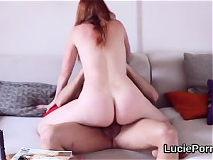 newbie girl-on-girl nymphomaniacs get their tasty snatches slurped and reamed
