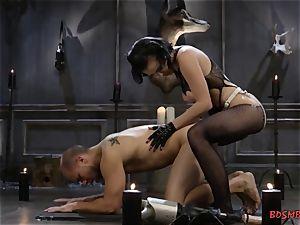 insatiable mistress Pegging Her anus