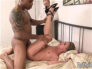 white wife puss ebony dude shaft and facial cumshot