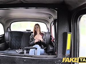 fake taxi slim red-haired loves tough bang-out