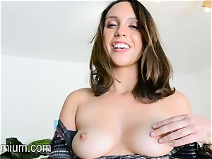 Jade Nile wants to demonstrate off her culo and gash