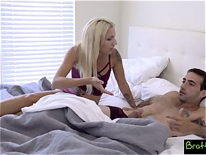 Bratty sis- Step brother And sister Share A bed! S8:E1