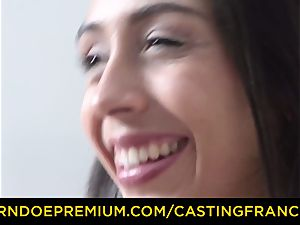 casting FRANCAIS - fledgling hottie poked and jizm glazed