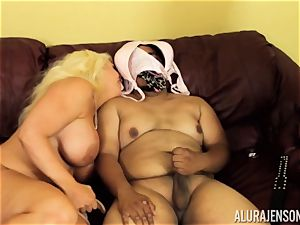 Alura Jenson gets a bit insatiable and starts to smack