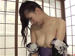 ultra-kinky milf Yui Oba likes firm bang-out with younger stud