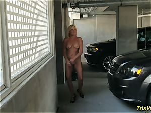 full bare stripping in Public #1