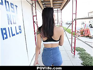 wonderful Latina Gina Valentina pov poking