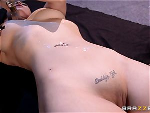 Lezley Zen and Katrina Jade fetish lesbian bang