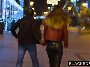 BLACKEDRAW huge-boobed babe Gets big black cock On A kinky Night
