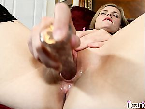 smallish Lil Candy has an intimate climax