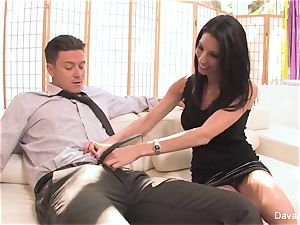 casting couch with Bradley with a internal ejaculation
