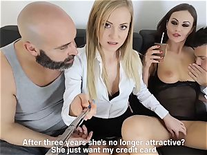 LOS CONSOLADORES - super hot swinger fourway with super hot babes