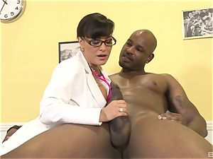 Lisa Ann mind-blowing mummy doc