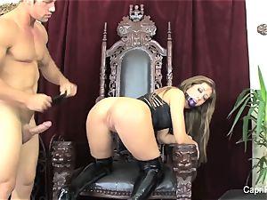 Capri Cavanni takes on Johnnys thick cock