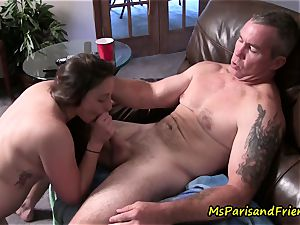 Ms Paris and Her Taboo Tales-Daddy daughter-in-law Get Caught