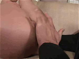 Kathia Nobili gets an assful of hard-on