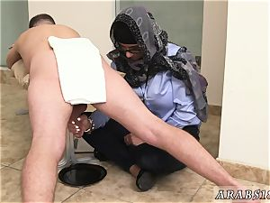 Arab wife bootie very first time dark-hued vs white, My Ultimate man sausage contest.