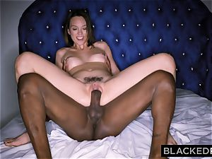 BLACKEDRAW Smoking Swinger wife tries black spunk-pump