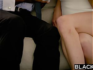 Jillian Janson gets humungous big black cock in her cock-squeezing arse