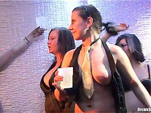 Bibi Fox, Tarra white and Carla Cox wild and mischievous