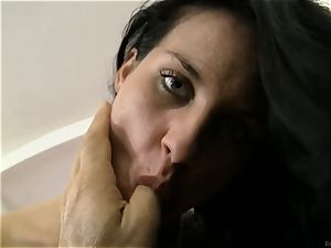 Rocco Siffredi hard-on plumbing Bettina DiCapri