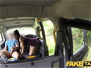 faux taxi swift smashing and creampie for peachy bum