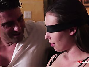 red-hot blindfolded wife doggystyled